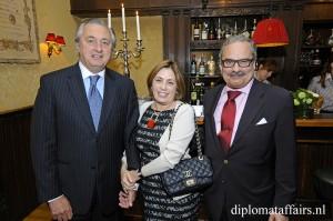 H.E. Mr Alvaro Moerzinger, Mrs Ana Luisa Trabal, H.E. Mr Jos De Bouza Serrano