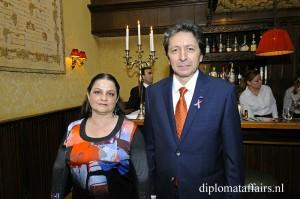 H.E. Mr Carlos Andres Miguel Herrera Rodriguez, Véronique Micléa