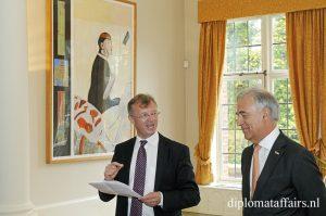 H.E. Mr Chirs Hoornaert, Mr Michel Foret