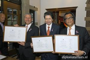 H.E. Mr Willys Delvalle Velasco, H.E. Mr Carlos Andres Miguel Herrera Rodriguez, H.E. Mr Ittiporn Boonpracong