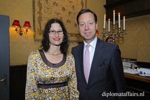 Mr. Roelof van Ees, Mrs. Sharyn van Ees Cooper