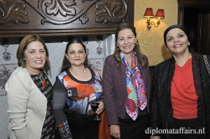 Mrs Ana Luisa Trabal, Mrs Véronique Micléa, Mrs. Reem Ben Becher, Mrs Besma Al Fayedh
