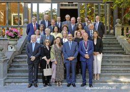 A gracious bid farewell to H.E. Mr. Karim Ben Bécher, Ambassador of Tunisia and Mrs. Rym El Memmi Ben Bécher