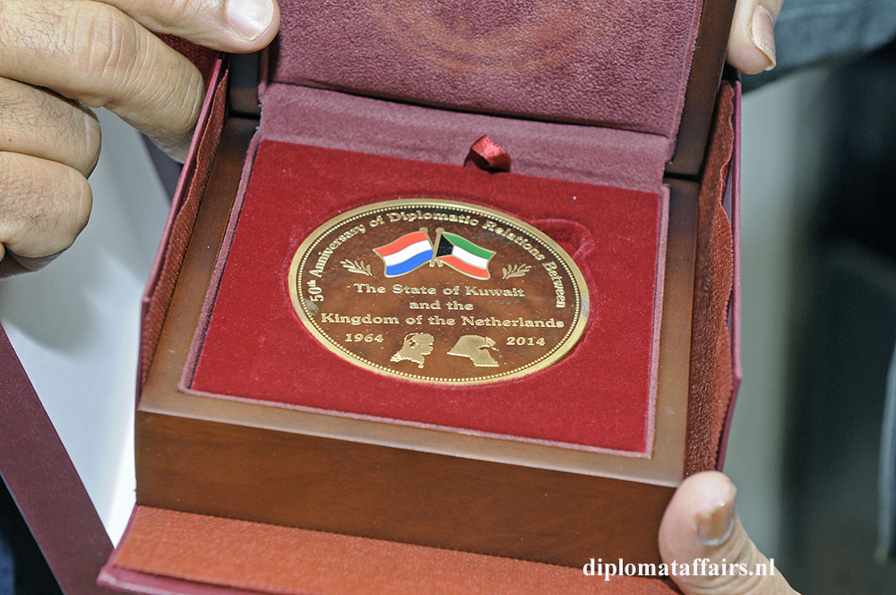 4. 50th Anniversary of the Diplomatic Relations State of Kuwait and the Kingdom of the Netherlands