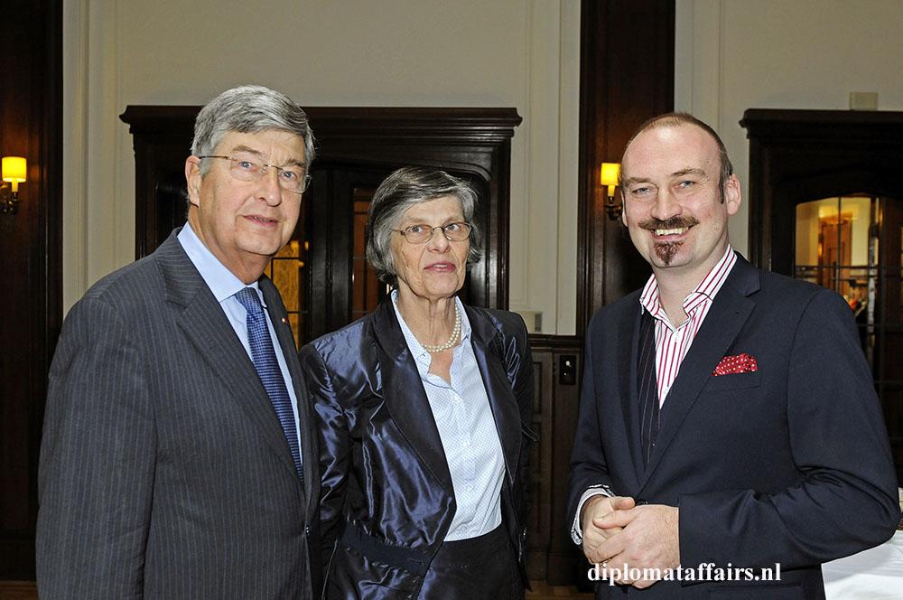 Baron and Baroness Berend Jan van Voorst tot Voorst and Mr. Bert Kruismans
