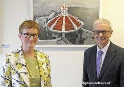 Ambassador of Malta Joseph Cole and Mrs. Bernardette Cole 'Friends in Art'