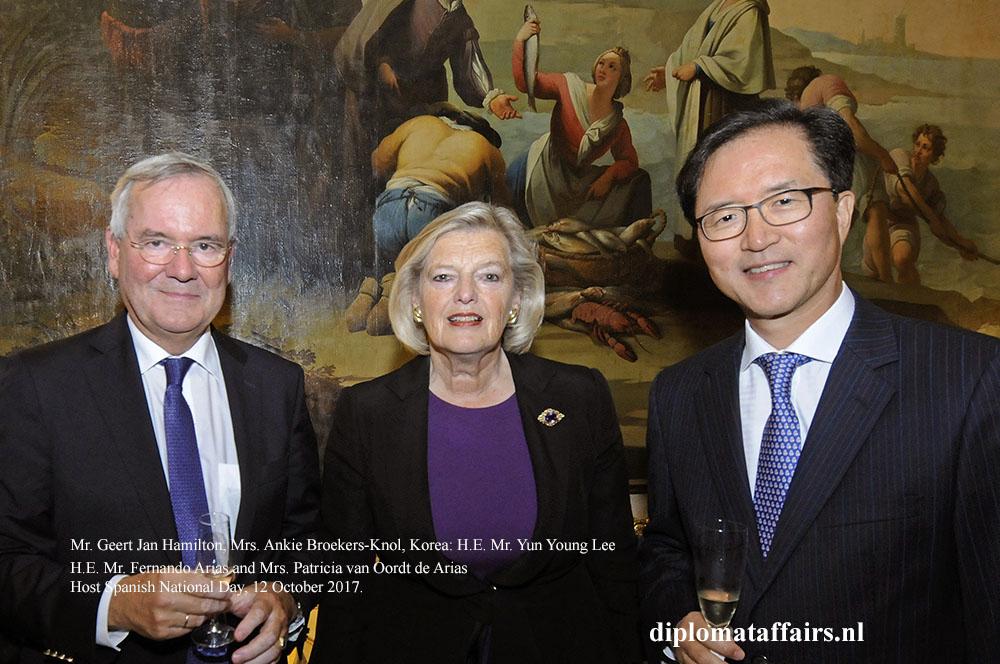 03 Mr. Geert Jan Hamilton, Mrs. Ankie Broekers-Knol, Korea H.E. Mr. Yun Young Lee
