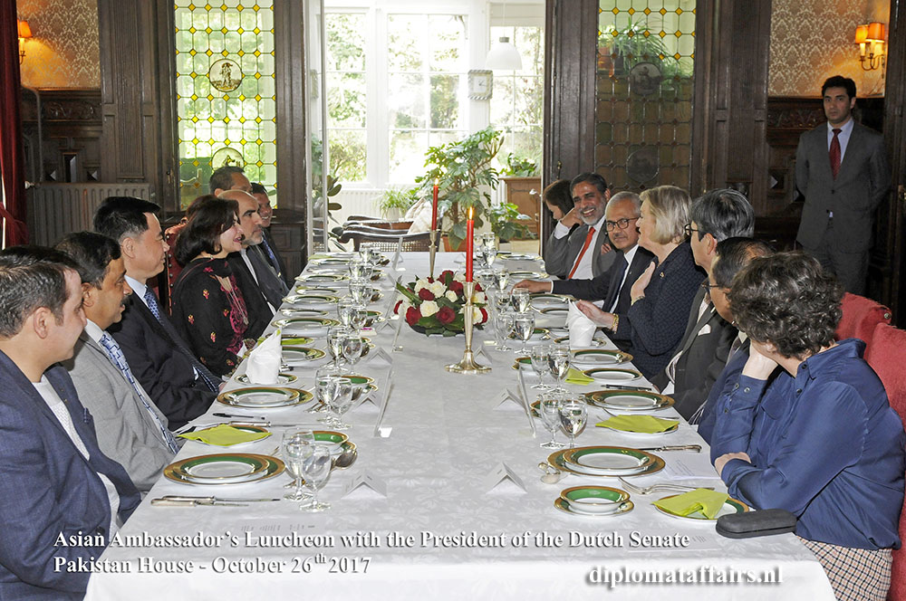 6 Asian Ambassador's Luncheon with as Chief Guest H.E. Ms Ankie Broekers-Knol