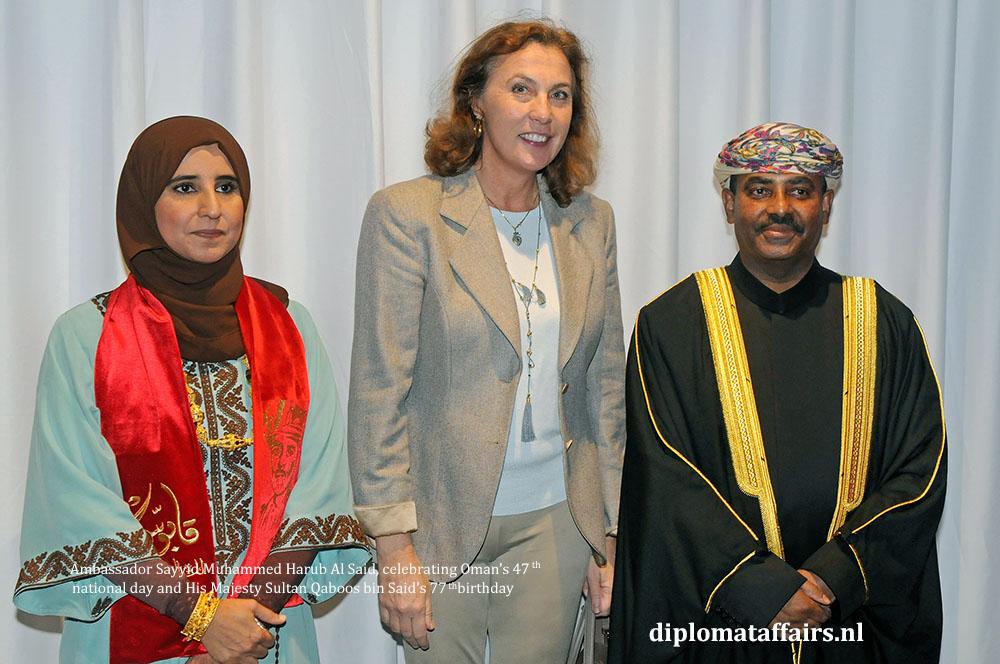 1 diplomataffairs.nl Mrs. Bibi barones van Zuylen van Nijevelt-den beer Ambassador Sayyid Muhammed Harub Al Said