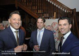 H.E. Dr. Brett Mason honours Australian-Dutch friendship