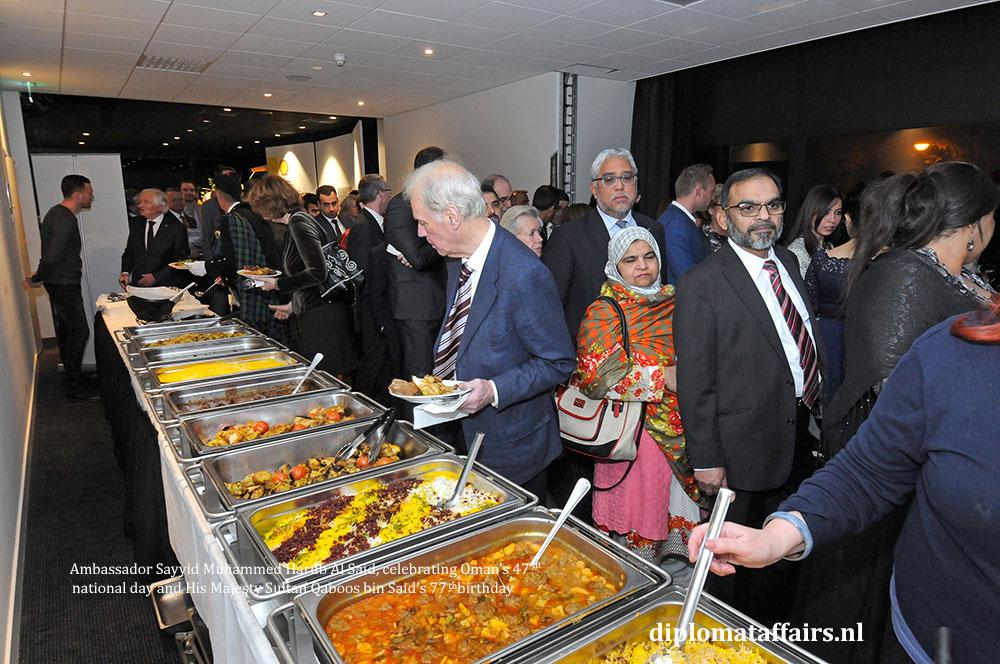 11. diplomataffairs.nl Ambassador Sayyid Muhammed Harub Al Said - Oman's 47th National Day