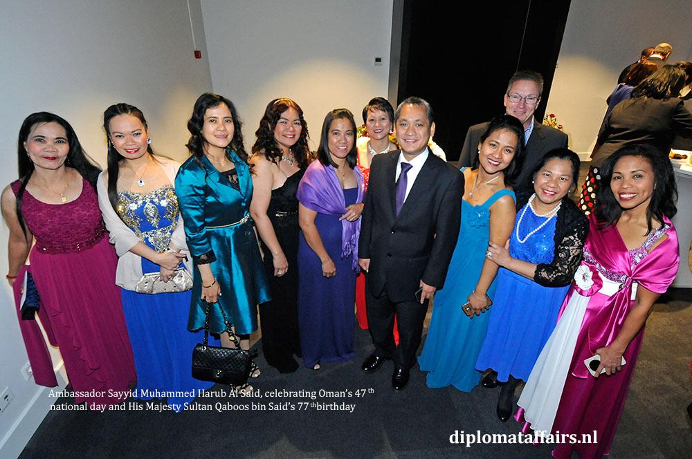 8. diplomataffairs.nl Oman's Nationa Day Ambassador of the Philippines Jaime Victor B. Ledda