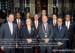 A warm welcome at Diplomat Club Wassenaar, 31 May 2015