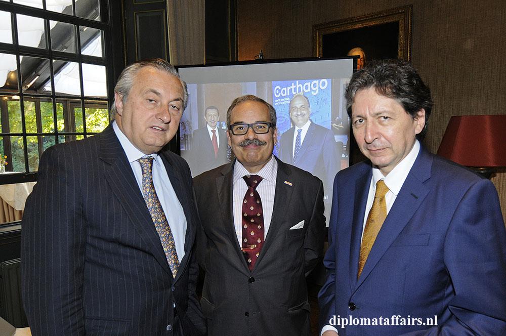 1409.jpg H.E. Alvaro Moerzinger, H.E. José de Bouza Serrano, H.E. Carlos Herrera