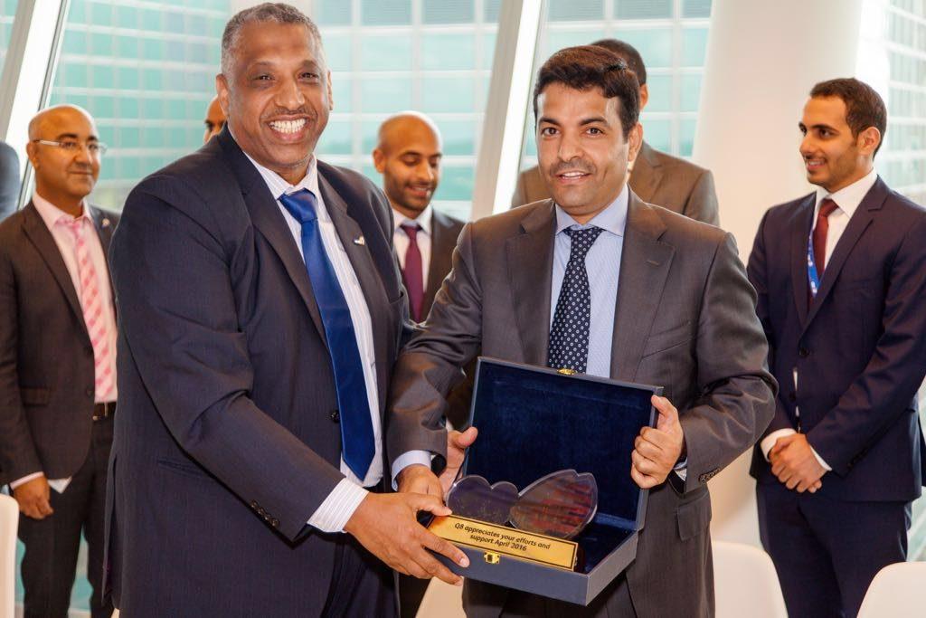 2. farewell visit Ambassador Hafeez Mohammed Salem Al-Ajmi at Kuwait Petroleum NL B.V. The Hague