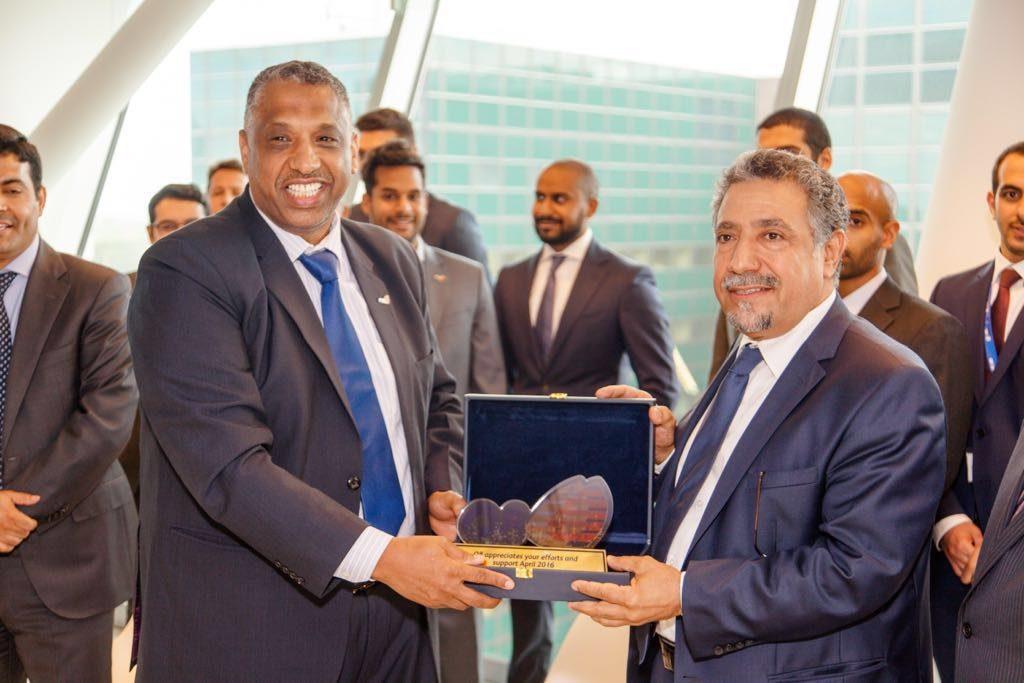 3. farewell visit Ambassador Hafeez Mohammed Salem Al-Ajmi at Kuwait Petroleum NL B.V. The Hague