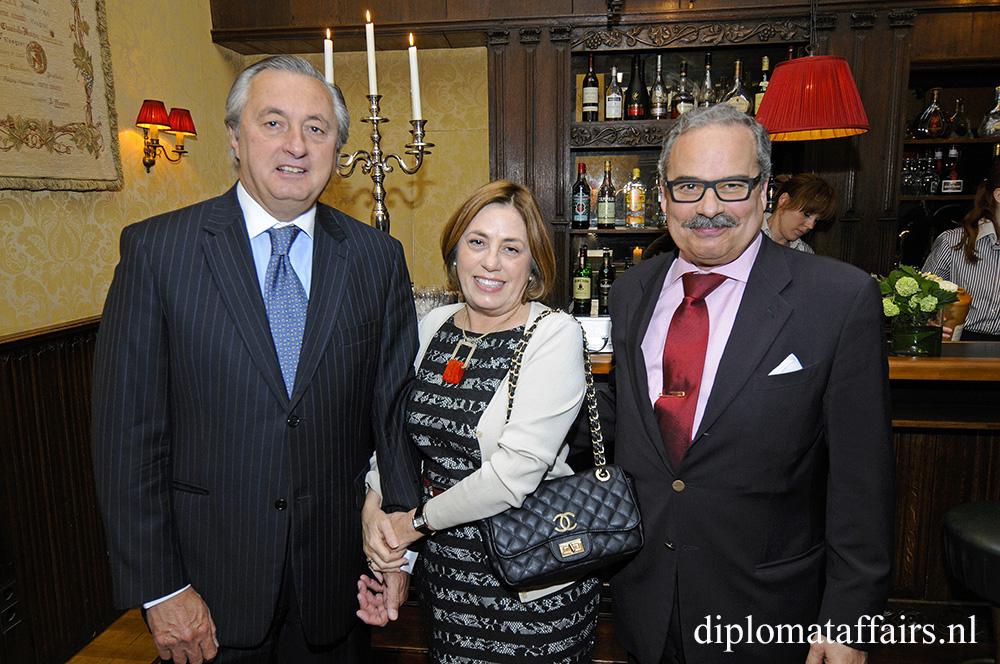 H.E. Mr Alvaro Moerzinger, Mrs Ana Luisa Trabal, H.E. Mr José De Bouza Serrano