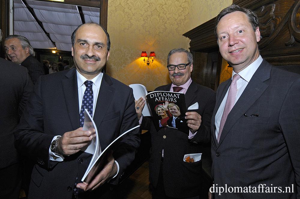 H.E. Mr. Karim Ben Becher, H.E. Mr José De Bouza Serrano, Mr Roelof van Ees