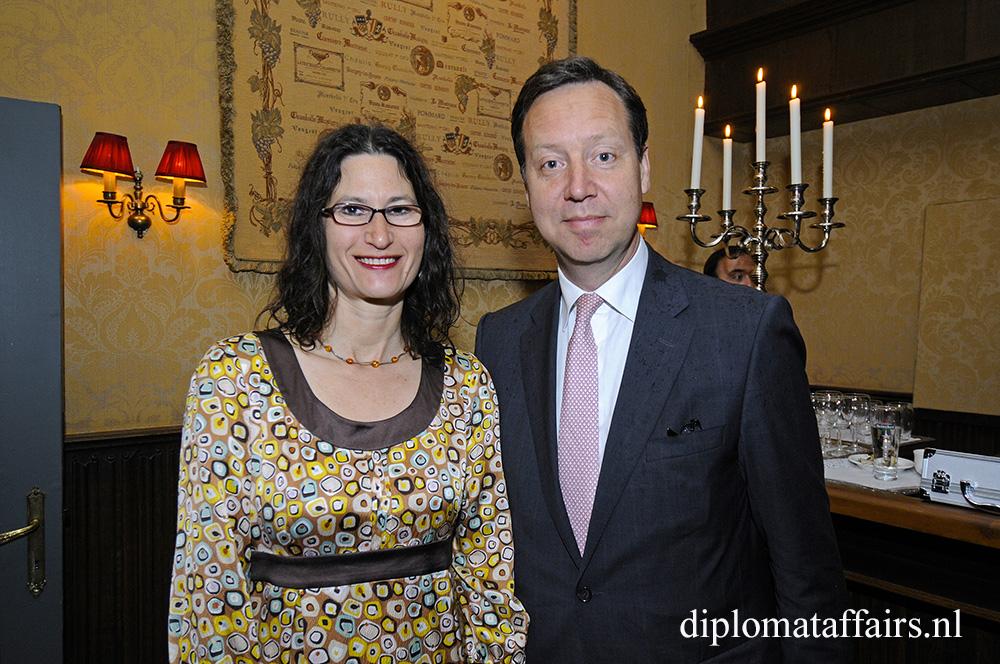 Mr. Roelof van Ees, Mrs. Sharyn van Ees-Cooper