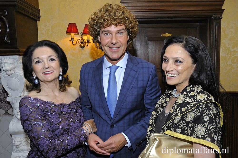 Mrs Eva Mennes, Mr Ralf Meppelder, Ms Indira Prasad