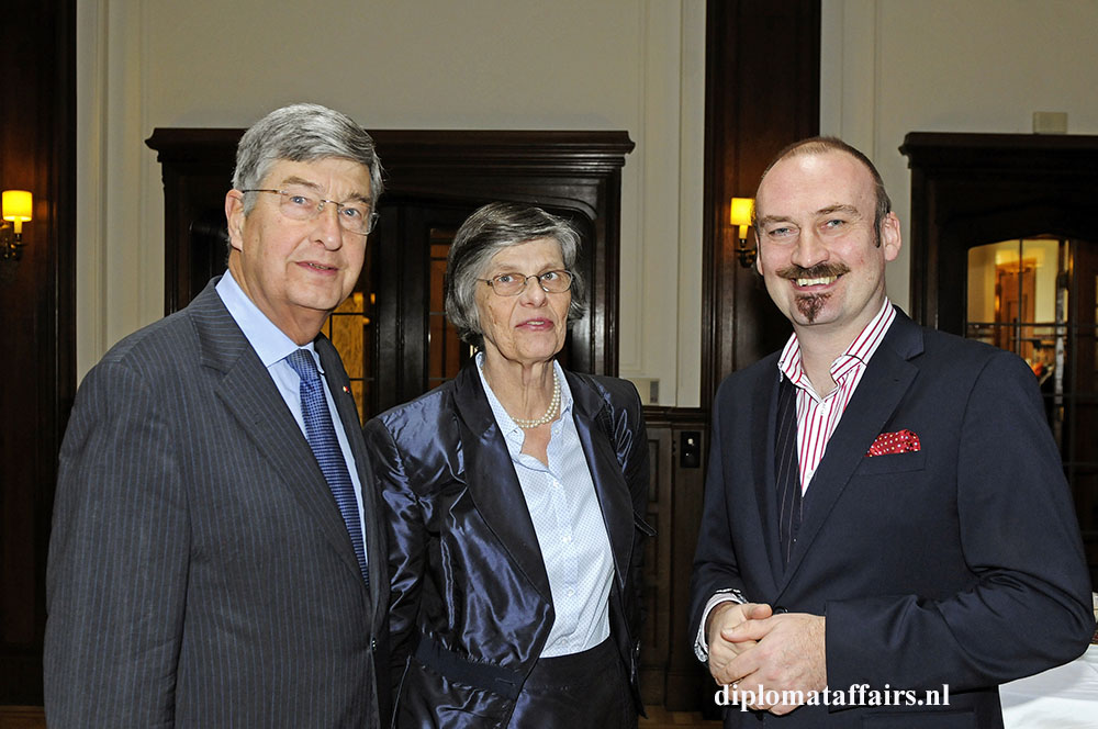 Baron and Baroness Berend Jan van Voorst tot Voorst and Mr. Bert Kruismans