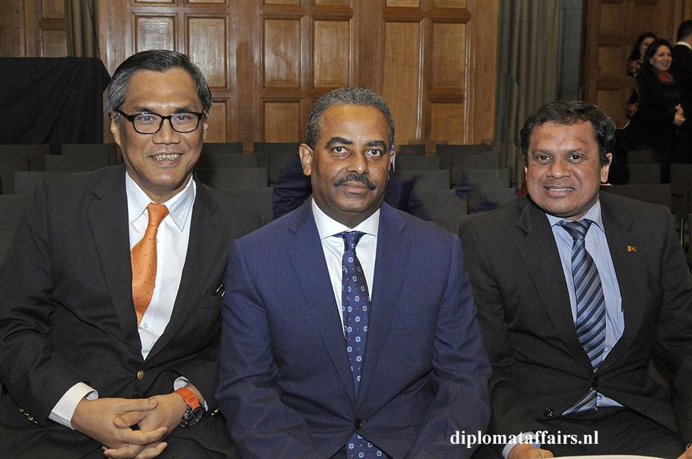 H.E. Mr Ittiporn Boonpracong, H.E. Sayyid Mohammed Harib Al-Said, H.E. Mr Adam Maznavee Jaufer Sadiq