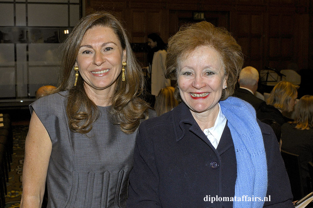 Mrs. Rym Ben Becher, H.E. Prof. María Teresa Infante