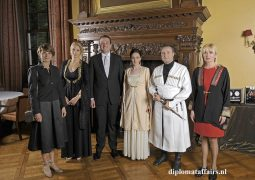 Georgian National Day: Diversity and Vibrancy at Castle de Wittenburg