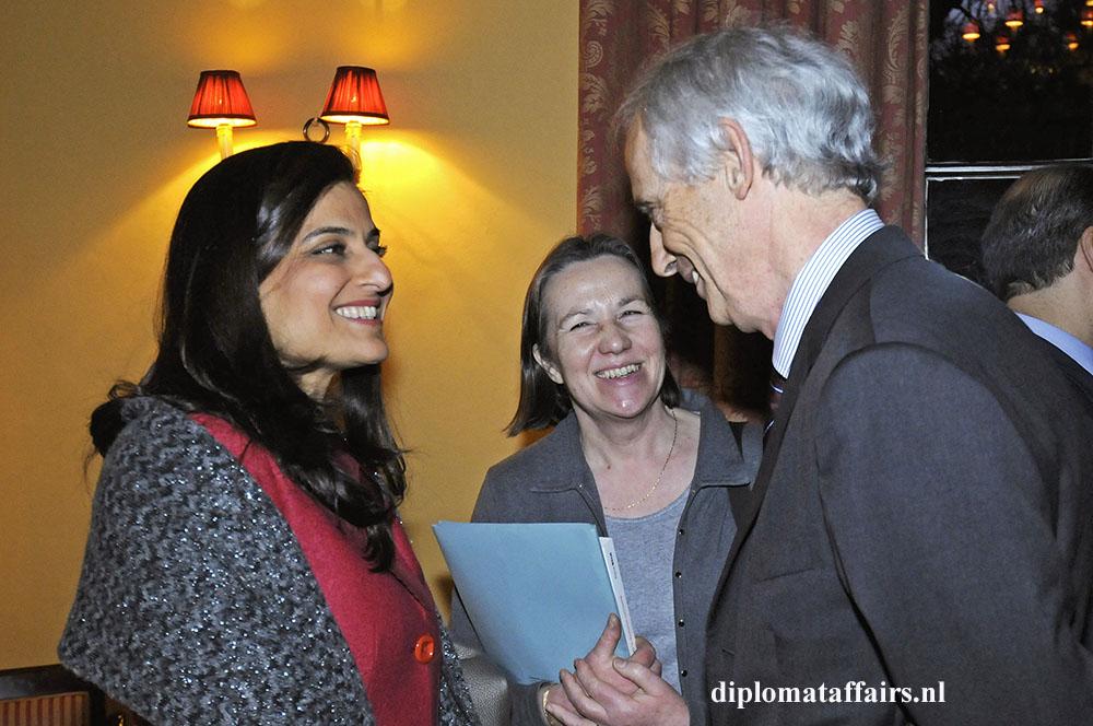 325.jpg Charge d' Affaires Lebanon, Ms. Abir Ali, General Consul of France in Amsterdam, Christina Vazak, Ambassador of Austria, H.E. Dr Johannes Werner Druml