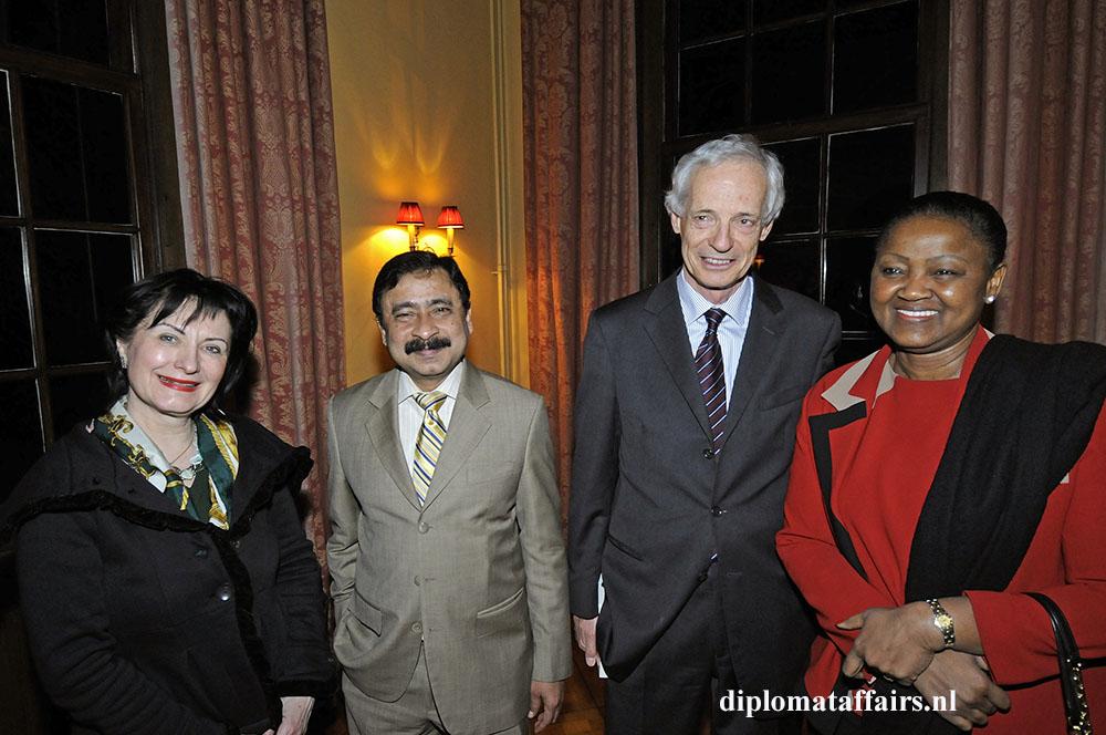 363.jpg H.E. Ms Ireny Comaroschi, Sheikh Mohammed Belal, H.E. Dr Johannes Werner Druml, H.E. Ms. Odette Melono