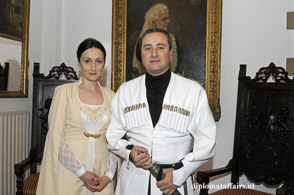 887.jpg H.E. Konstantine Surgarladze & Mrs. Nino Rusadze