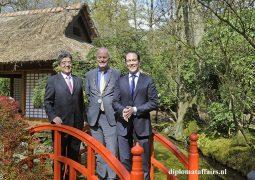 Ambassador Hiroshi Inomata contributes to the legacy of the Japanese Garden of Clingendael
