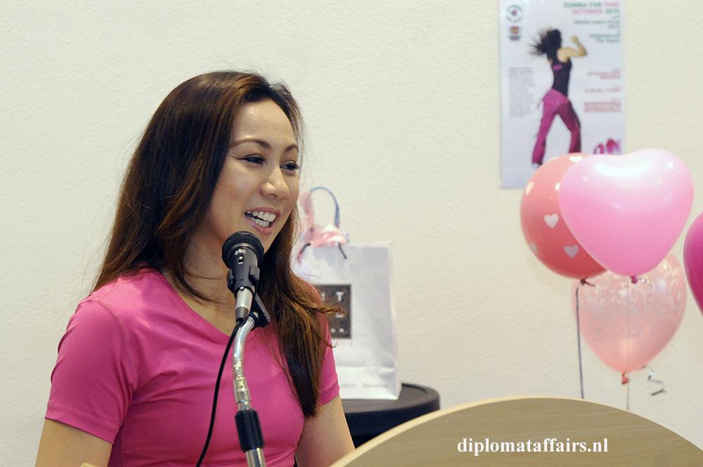 1 Mrs. Linda Zin spouse of Malaysian Ambassador