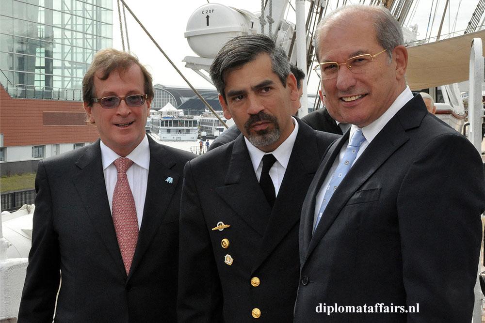 2 H.E. Horacio Salvador Ambassador of Argentina