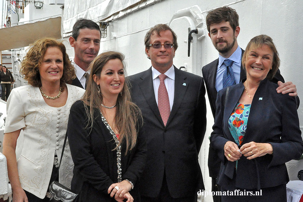 4 H.E. Horacio Salvador Ambassador of Argentina