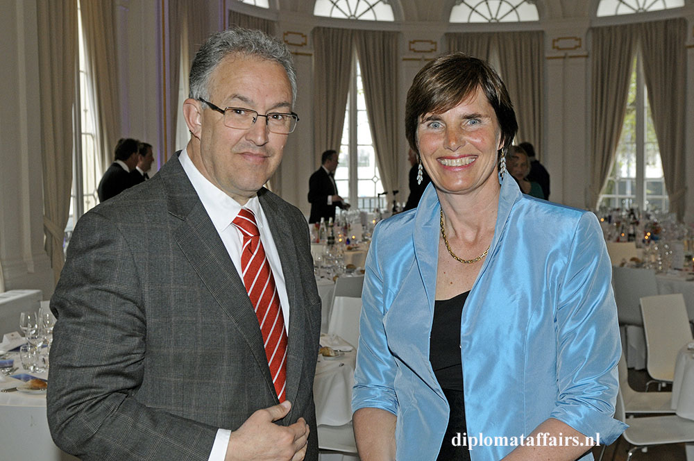 437.jpg Mayor of Rotterdam Ahmed Aboutaleb, Prof. Dr. Jolien Roos-Hesselink MC Erasmus Thorax Foundation