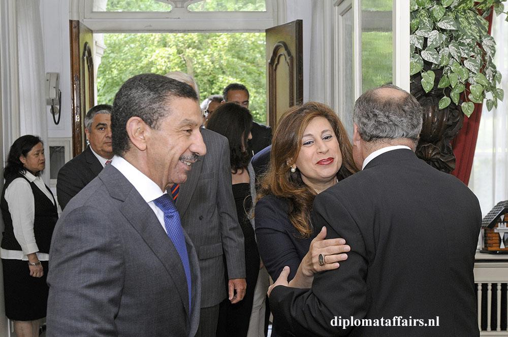928.jpg Ambassador of Egypt H.E. Taher Farahat - Mrs. Nadine