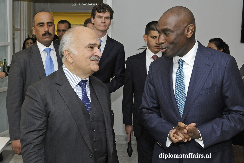 2. HH Prince El Hassan Bin Talal of Jordan, Dr. Abi Williams