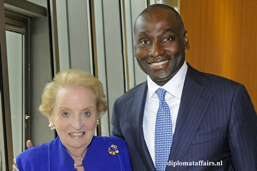 3. Mrs. Madeleine Albright, Dr. Abi Williams