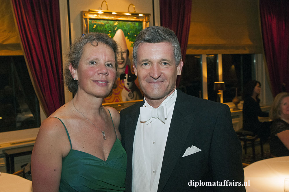 photo 8 Mrs. Ursi Erd, Mr. Christiaan Erd, Chairman of the Foundation Austrian Culture in the Netherlands