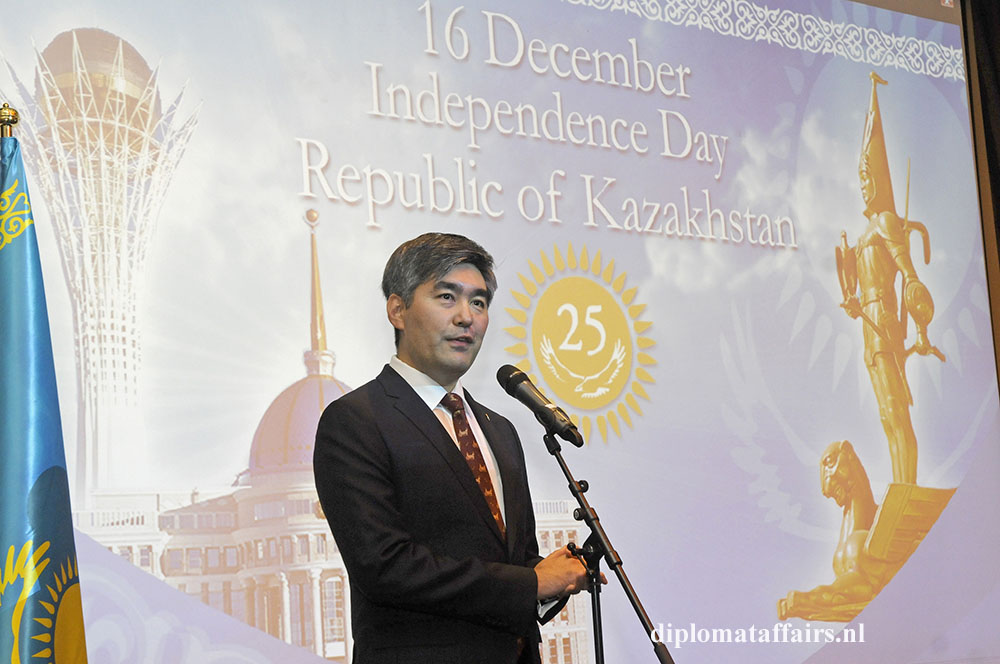 1. H.E. Magzhan Ilyasov Ambassador of the Republic of Kazakhstan to the Kingdom of The Netherlands