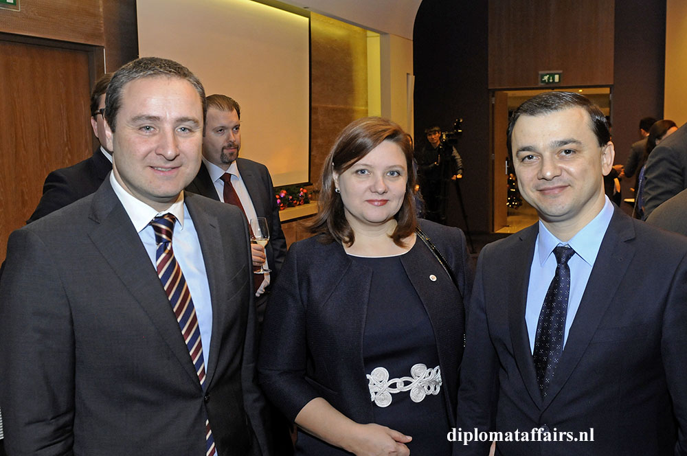 11 H.E. Mr Konstantine Surguladze, H.E. Mr Emilian Brenici and Mrs. Brenici