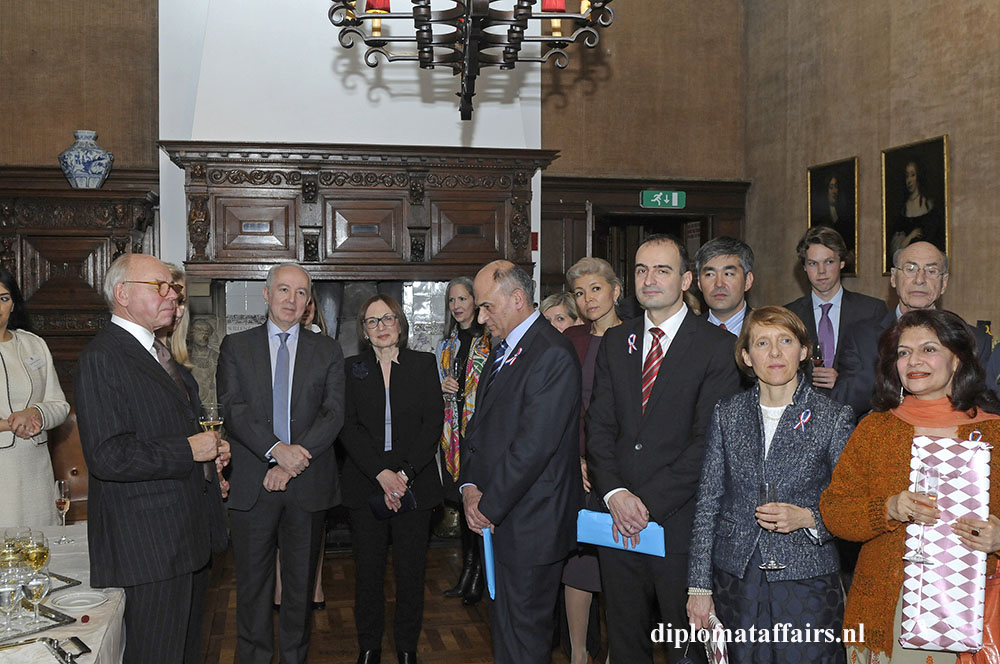 2. Adieu Ambassador of Azerbaijan Diplomat Club Wassenaar