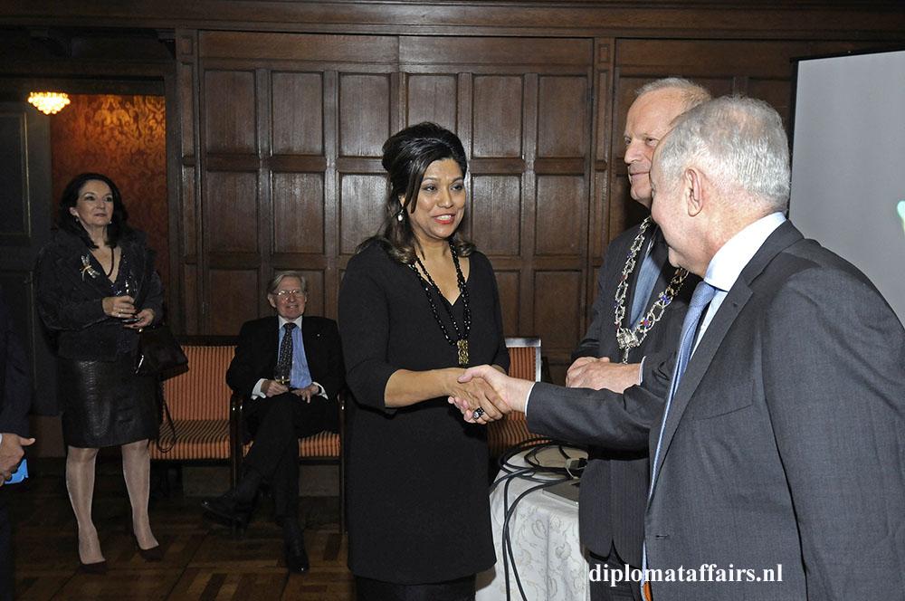 4. Mrs. Shida Bliek Mayor Jan Hoekema H.E. Mir-Hamza Efendiyev