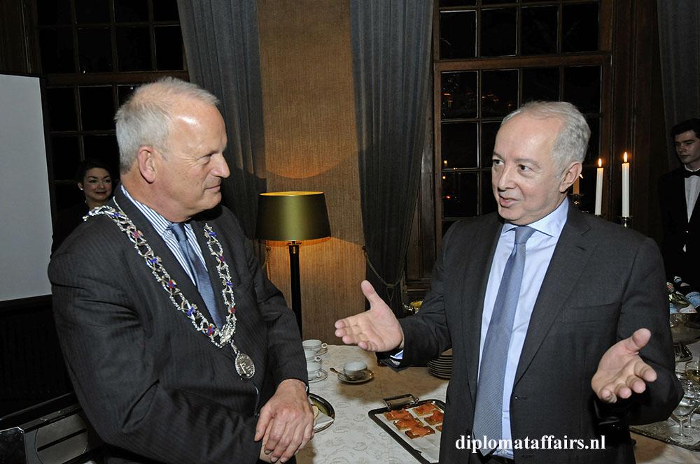 5. Mayor Jan Hoekema and H.E Mr Mir-Hamza Efendiyev