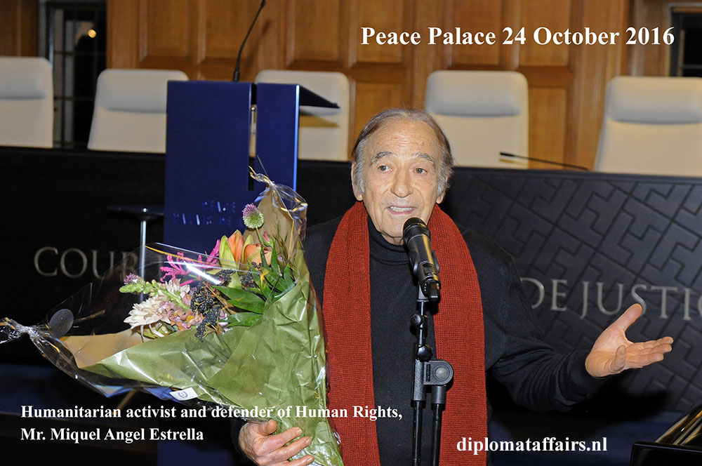 1 Miquel Angel Estrella - Peace Palace 24 October 2016