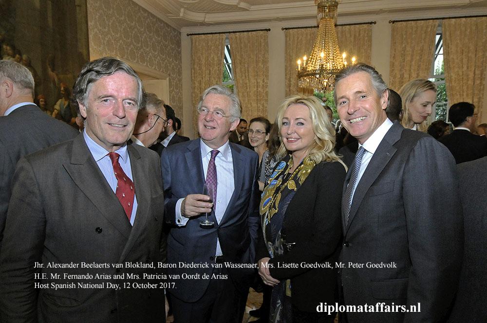09 Jhr. Alexander Beelaerts, Baron Diederick van Wassenaer, Mrs. Lisette Goedvolk, Mr. Peter Goedvolk