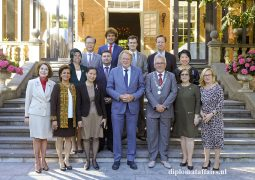 King's Commissioner, Mr. Jaap Smit presents the Province of Zuid-Holland to nine new Ambassadors