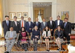 Asian Ambassador's Luncheon with as Chief Guest  the President of the Dutch Senate