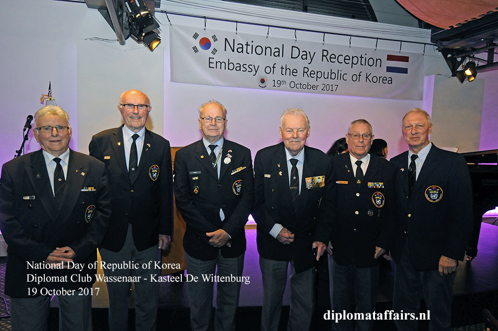 10 Dutch Veterans National Day Republic of Korea Diplomat Club Wassenaar